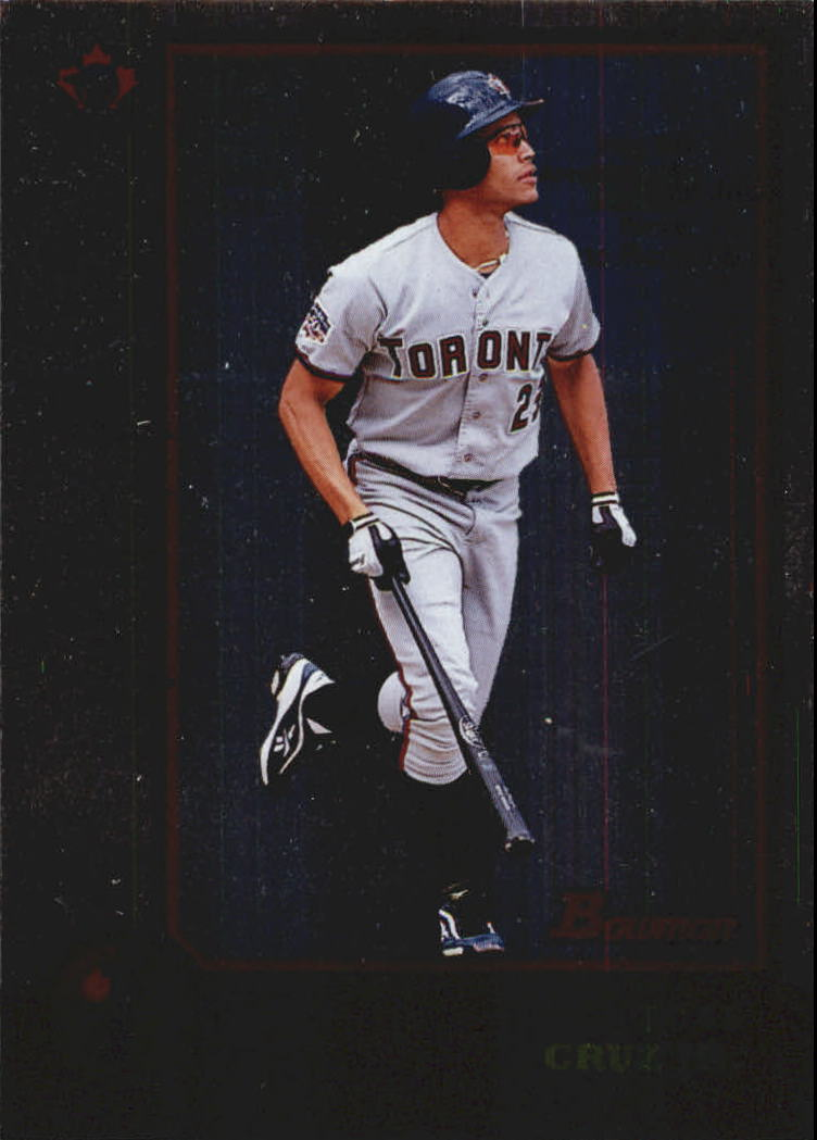 1998 Bowman International #7 Jose Cruz Jr.