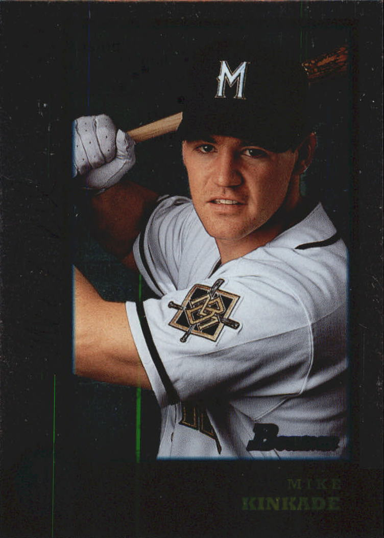 1998 Bowman International #137 Mike Kinkade