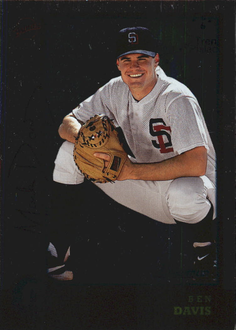 1998 Bowman International #142 Ben Davis