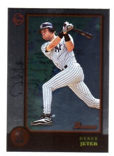 1998 Bowman International #224 Derek Jeter
