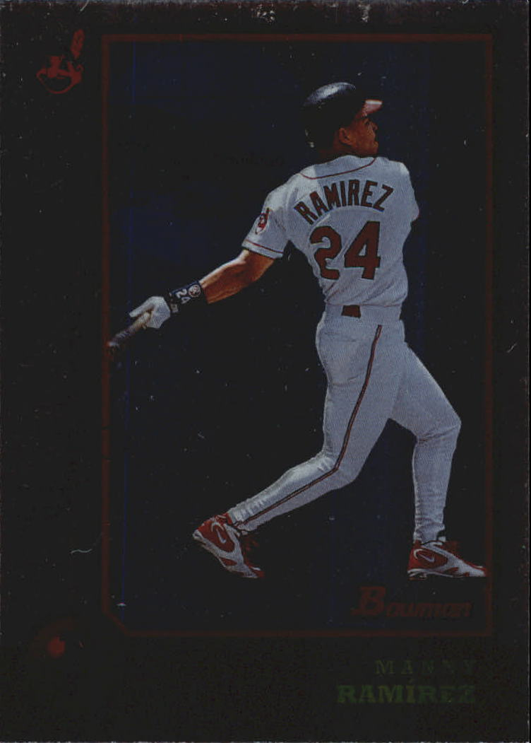 1998 Bowman International #284 Manny Ramirez