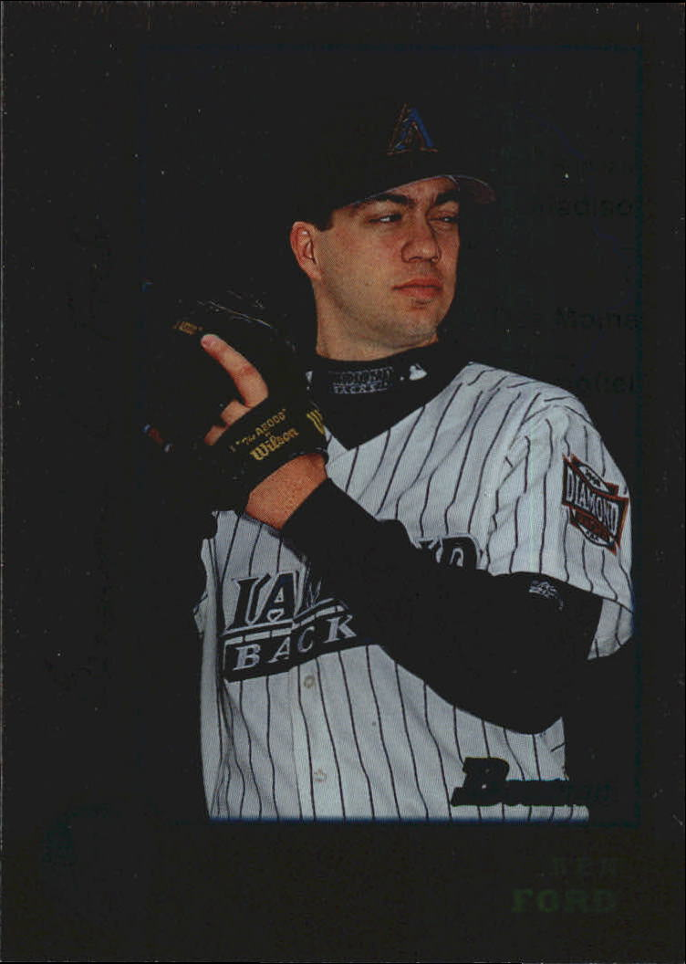 1998 Bowman International #382 Ben Ford