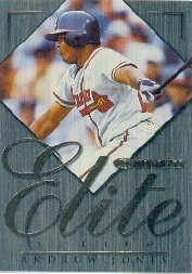 1998 Donruss Elite Inserts #2 Andruw Jones