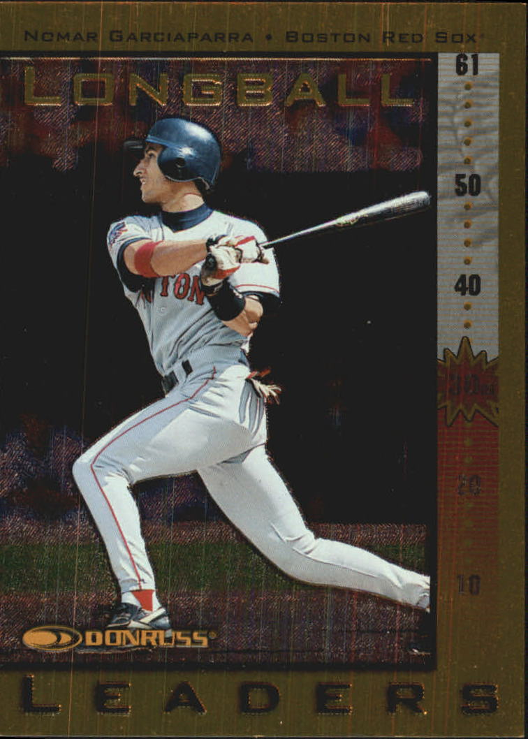 1998 Donruss Longball Leaders #20 Nomar Garciaparra