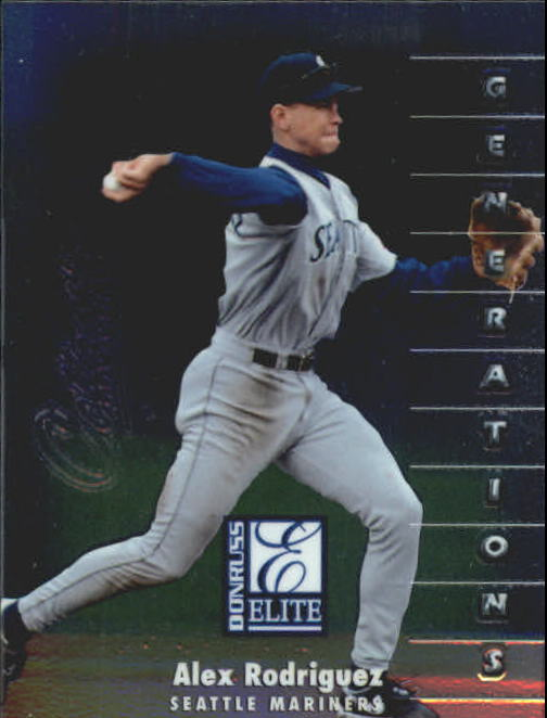 1998 Donruss Collections Elite #520 Alex Rodriguez GEN