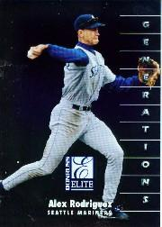1998 Donruss Elite #120 Alex Rodriguez GEN