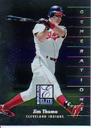 1998 Donruss Elite #137 Jim Thome GEN