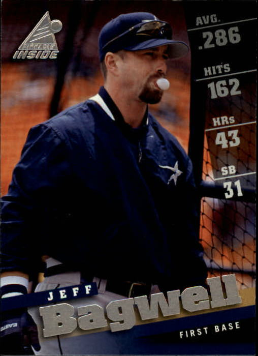 1998 Pinnacle Inside #26 Jeff Bagwell
