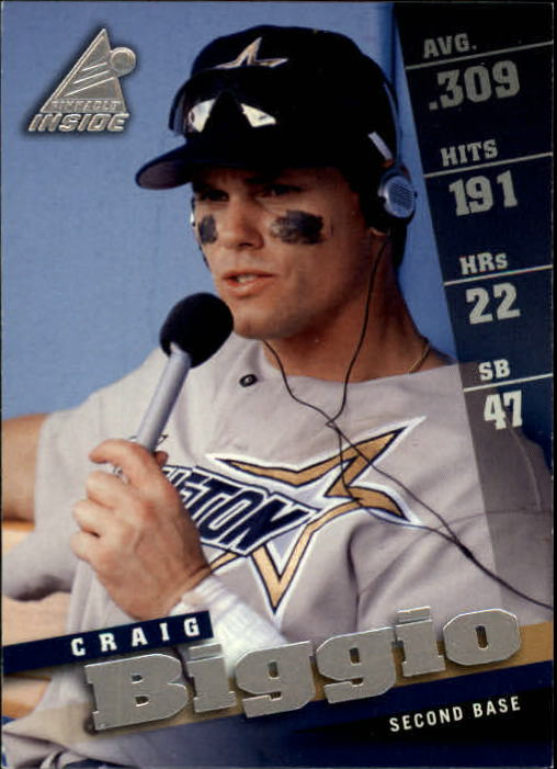 1998 Pinnacle Inside #50 Craig Biggio