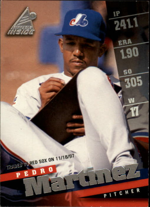 1998 Pinnacle Inside #98 Pedro Martinez