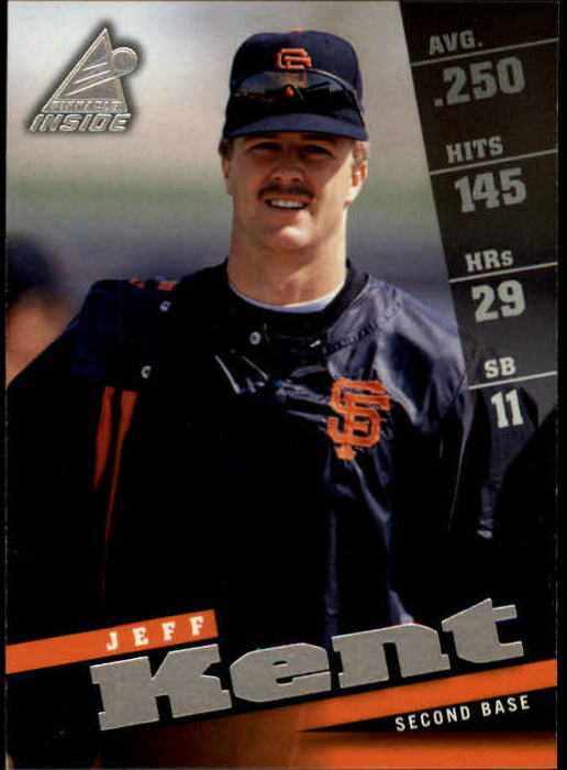 1998 Pinnacle Inside #101 Jeff Kent