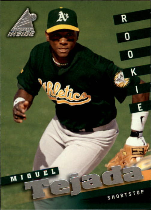 1998 Pinnacle Inside #115 Miguel Tejada