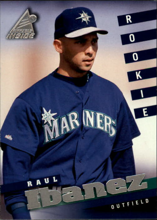 1998 Pinnacle Inside #119 Raul Ibanez