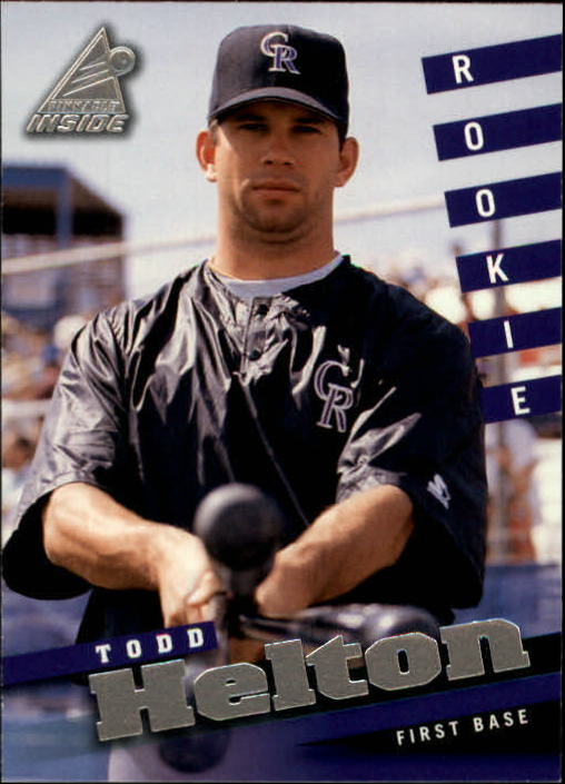 1998 Pinnacle Inside #126 Todd Helton