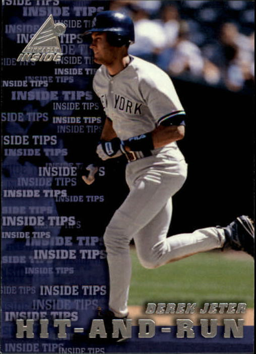1998 Pinnacle Inside #133 Derek Jeter IT