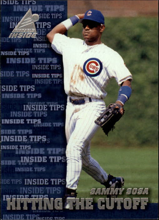 1998 Pinnacle Inside #141 Sammy Sosa IT