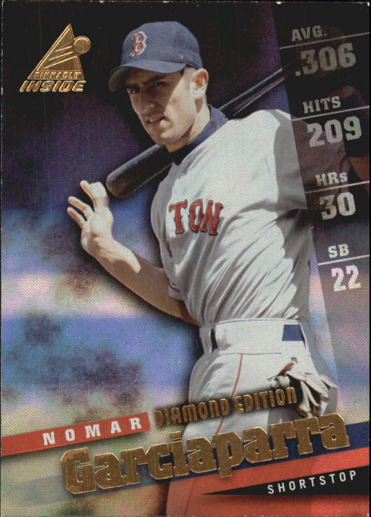 1998 Pinnacle Inside Diamond Edition #5 Nomar Garciaparra