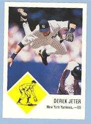 1998 Fleer Tradition Vintage '63 #38 Derek Jeter