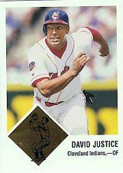 1998 Fleer Tradition Vintage '63 Classic #15 David Justice
