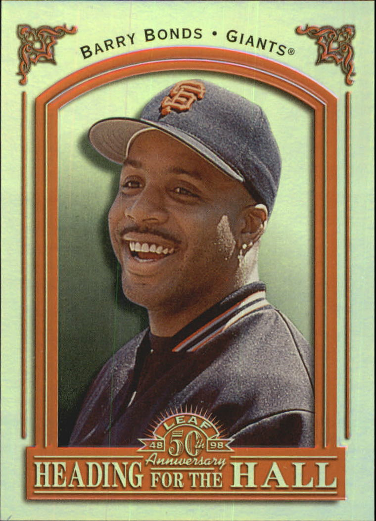 1998 Leaf Heading for the Hall #5 Barry Bonds