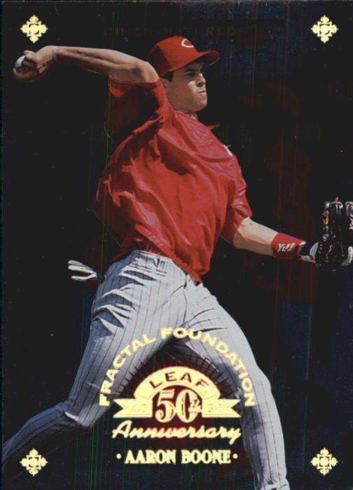 1998 Leaf Fractal Foundations #23 Aaron Boone