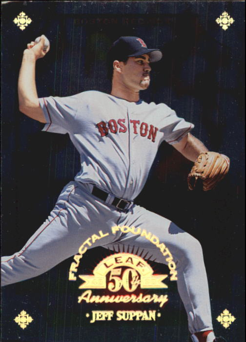 1998 Leaf Fractal Foundations #33 Jeff Suppan