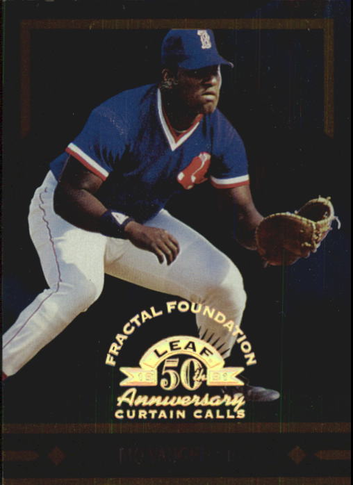 1998 Leaf Fractal Foundations #148 Mo Vaughn CC