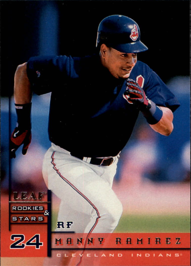 1998 Leaf Rookies and Stars #4 Manny Ramirez