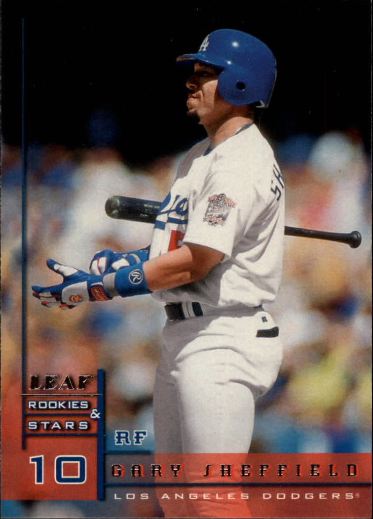 1998 Leaf Rookies and Stars #9 Gary Sheffield