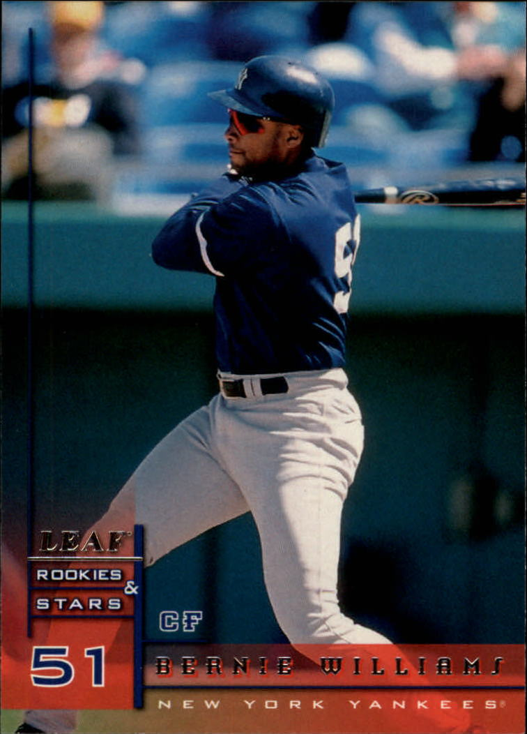 1998 Leaf Rookies and Stars #11 Bernie Williams