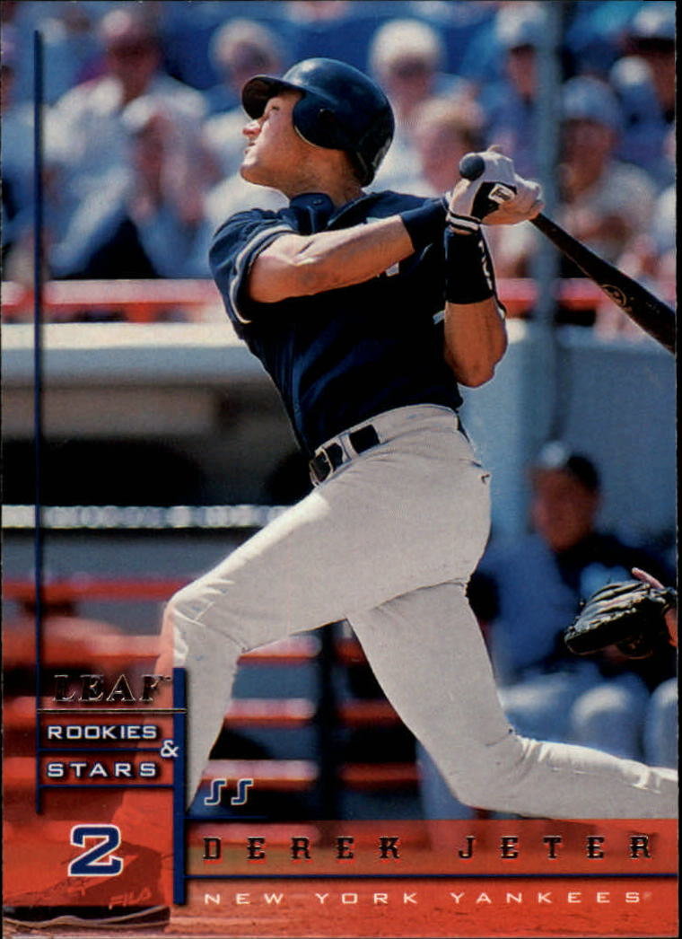 1998 Leaf Rookies and Stars #34 Derek Jeter
