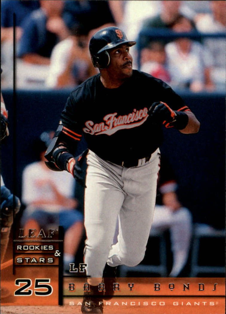 1998 Leaf Rookies and Stars #44 Barry Bonds front image