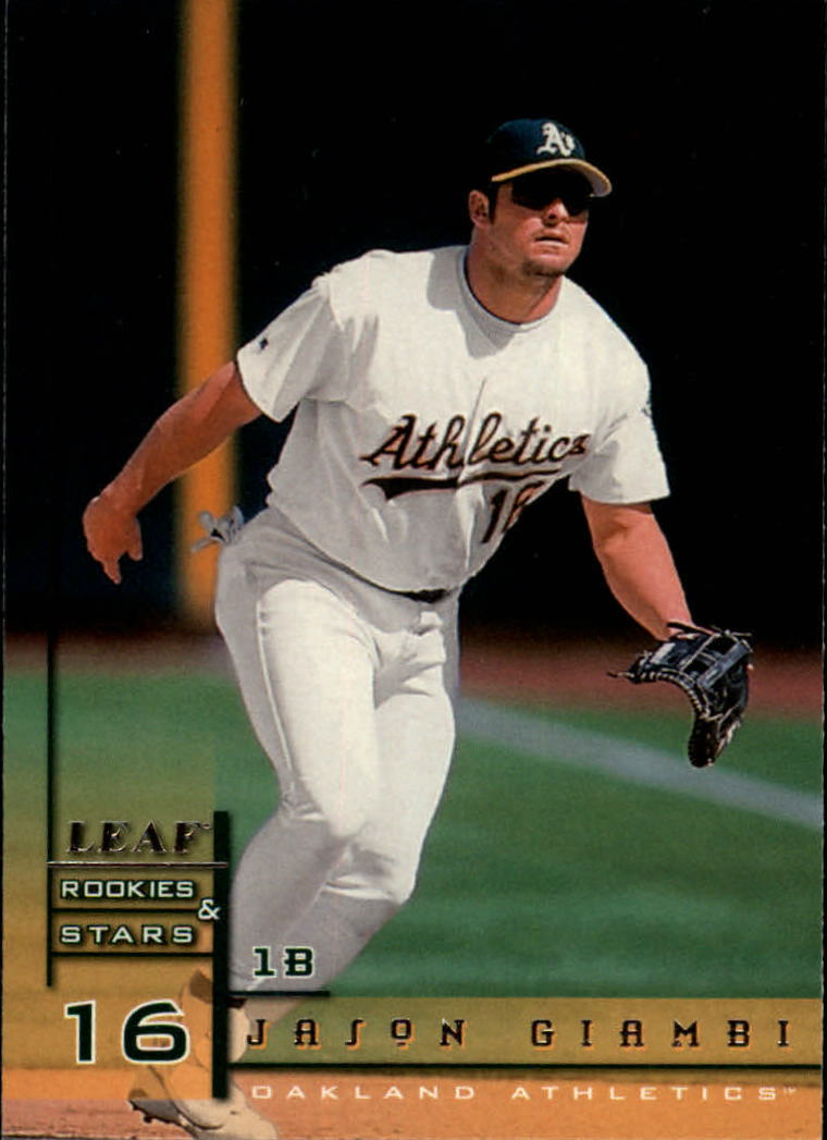 1998 Leaf Rookies and Stars #67 Jason Giambi