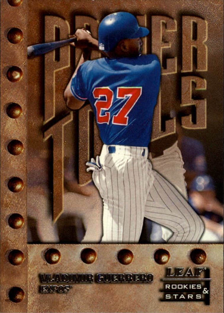 1998 Leaf Rookies and Stars #150 Vladimir Guerrero PT SP