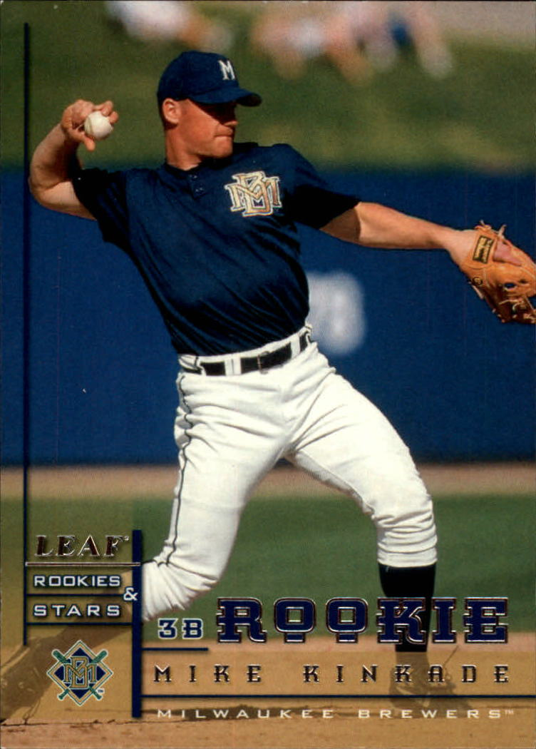 1998 Leaf Rookies and Stars #226 Mike Kinkade SP RC
