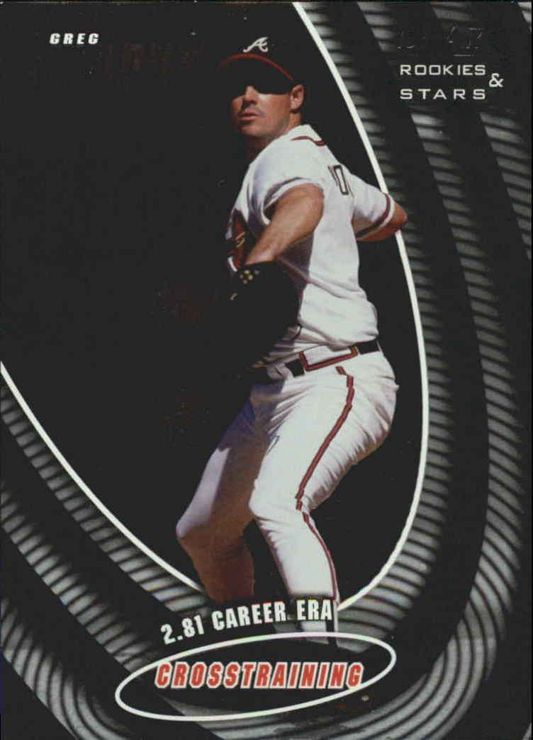 1998 Leaf Rookies and Stars Crosstraining #4 Greg Maddux