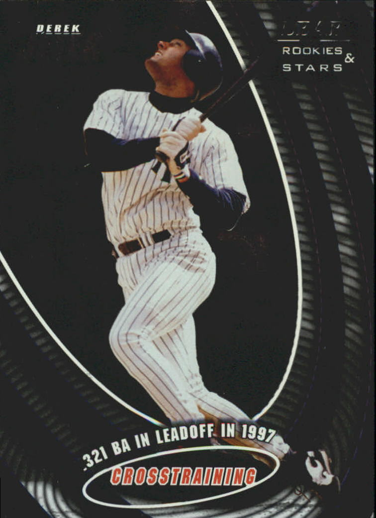 1998 Leaf Rookies and Stars Crosstraining #10 Derek Jeter