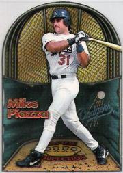 1998 Pacific In The Cage #10 Mike Piazza