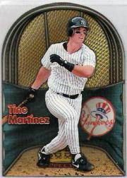 1998 Pacific In The Cage #11 Tino Martinez