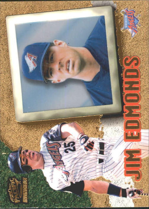 1998 Pacific Invincible #2 Jim Edmonds