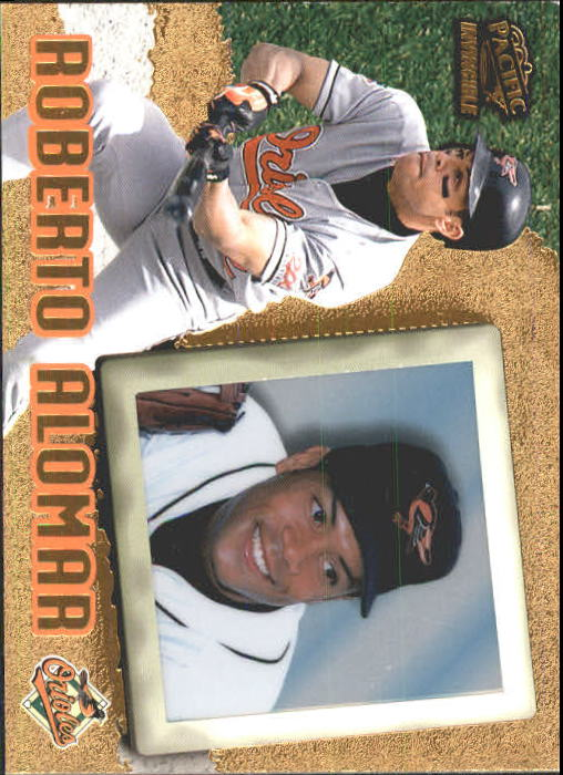 1998 Pacific Invincible #6 Roberto Alomar