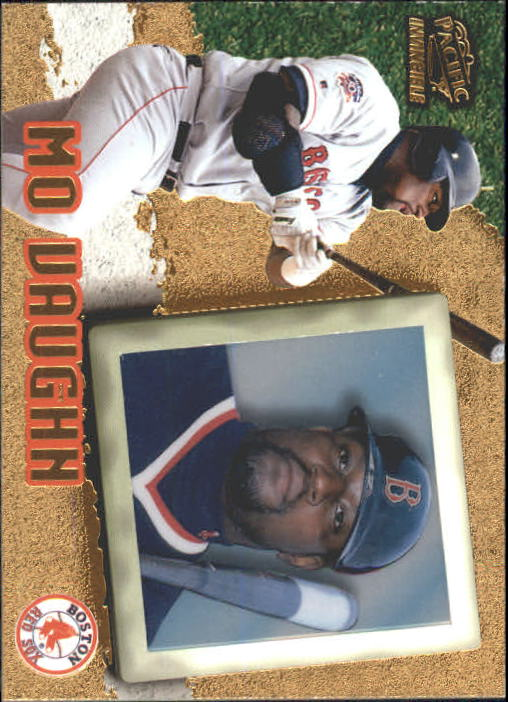 1998 Pacific Invincible #16 Mo Vaughn