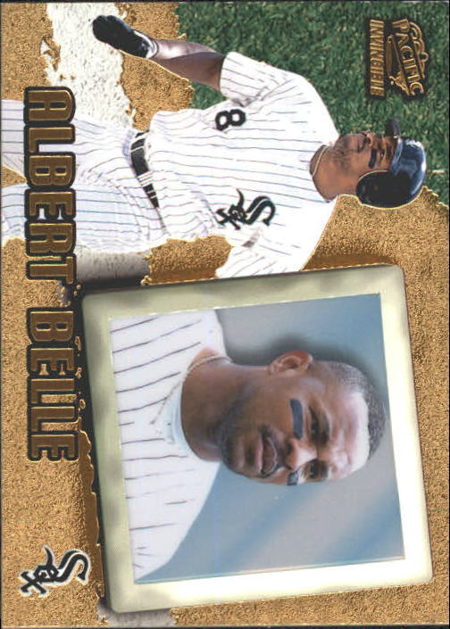 1998 Pacific Invincible #17 Albert Belle