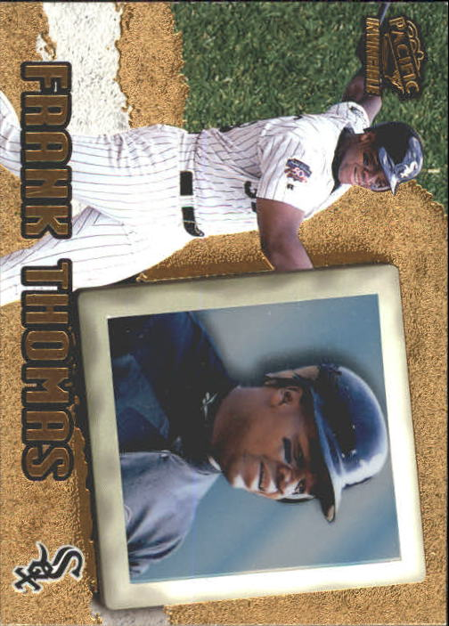 1998 Pacific Invincible #20 Frank Thomas