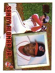 1998 Pacific Invincible #22 Sandy Alomar Jr.