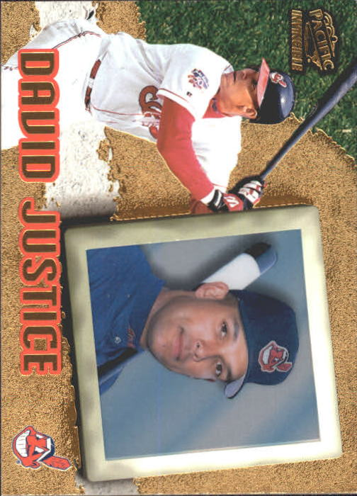 1998 Pacific Invincible #23 David Justice