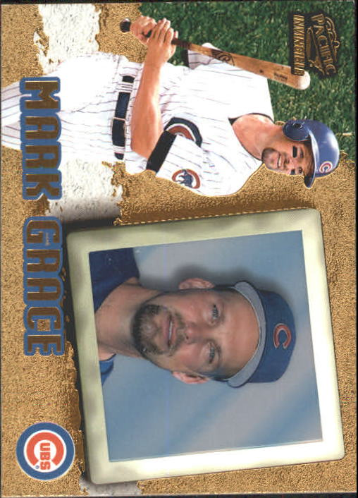 1998 Pacific Invincible #83 Mark Grace