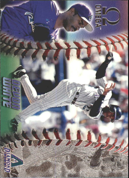 1998 Pacific Omega #15 Devon White