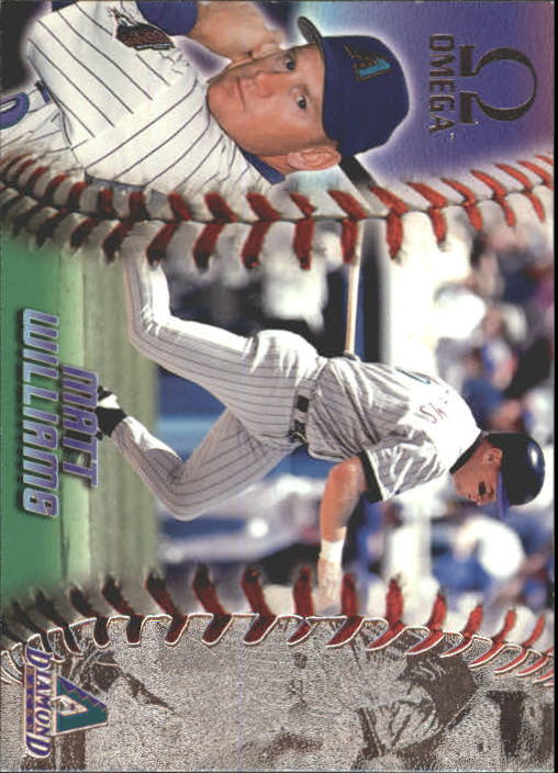 1998 Pacific Omega #16 Matt Williams