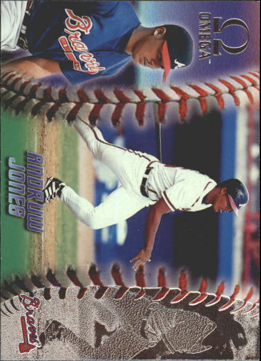1998 Pacific Omega #19 Andruw Jones